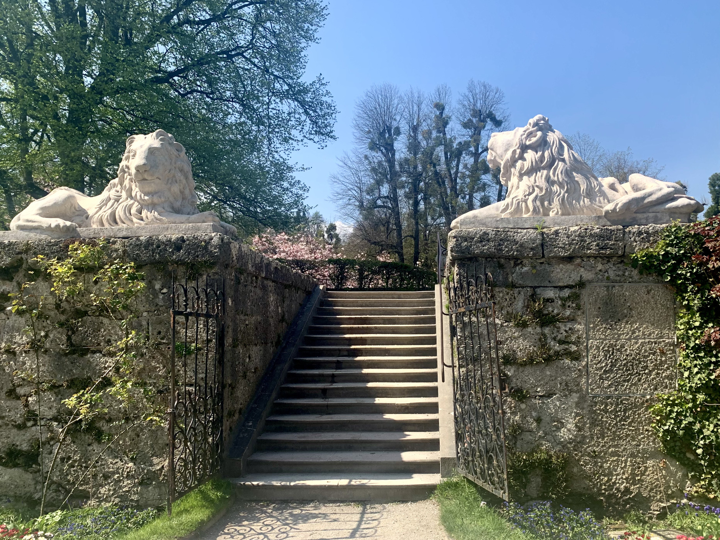 Lions Guarding Bastion´Stairs