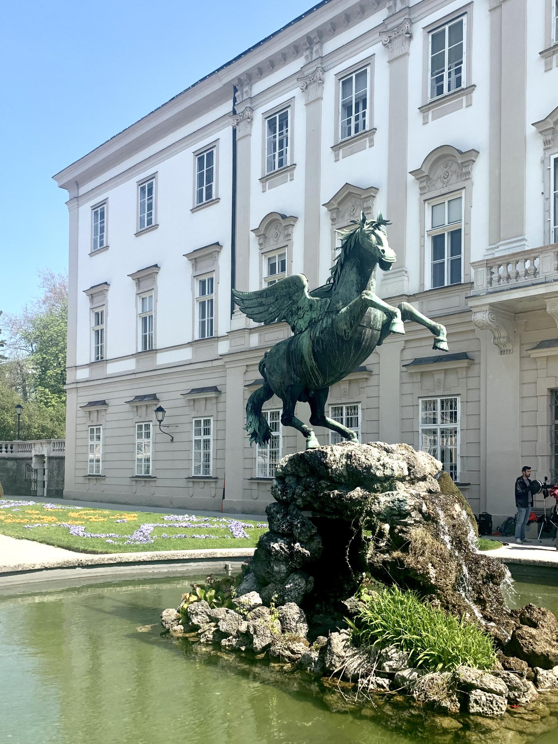 Pegasus Fountain Salzburg