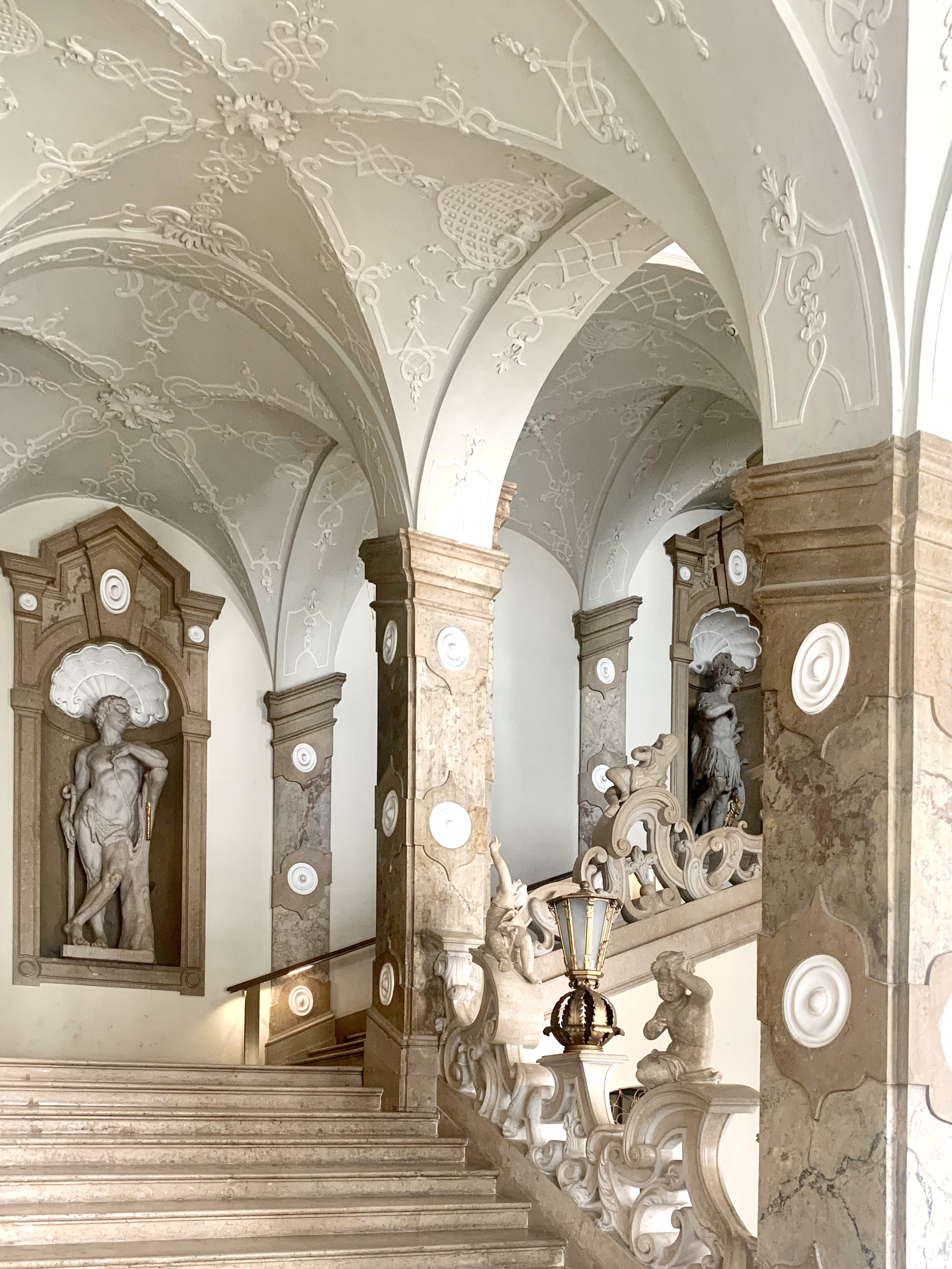 Baroque Marble Staircase Mirabell Palace