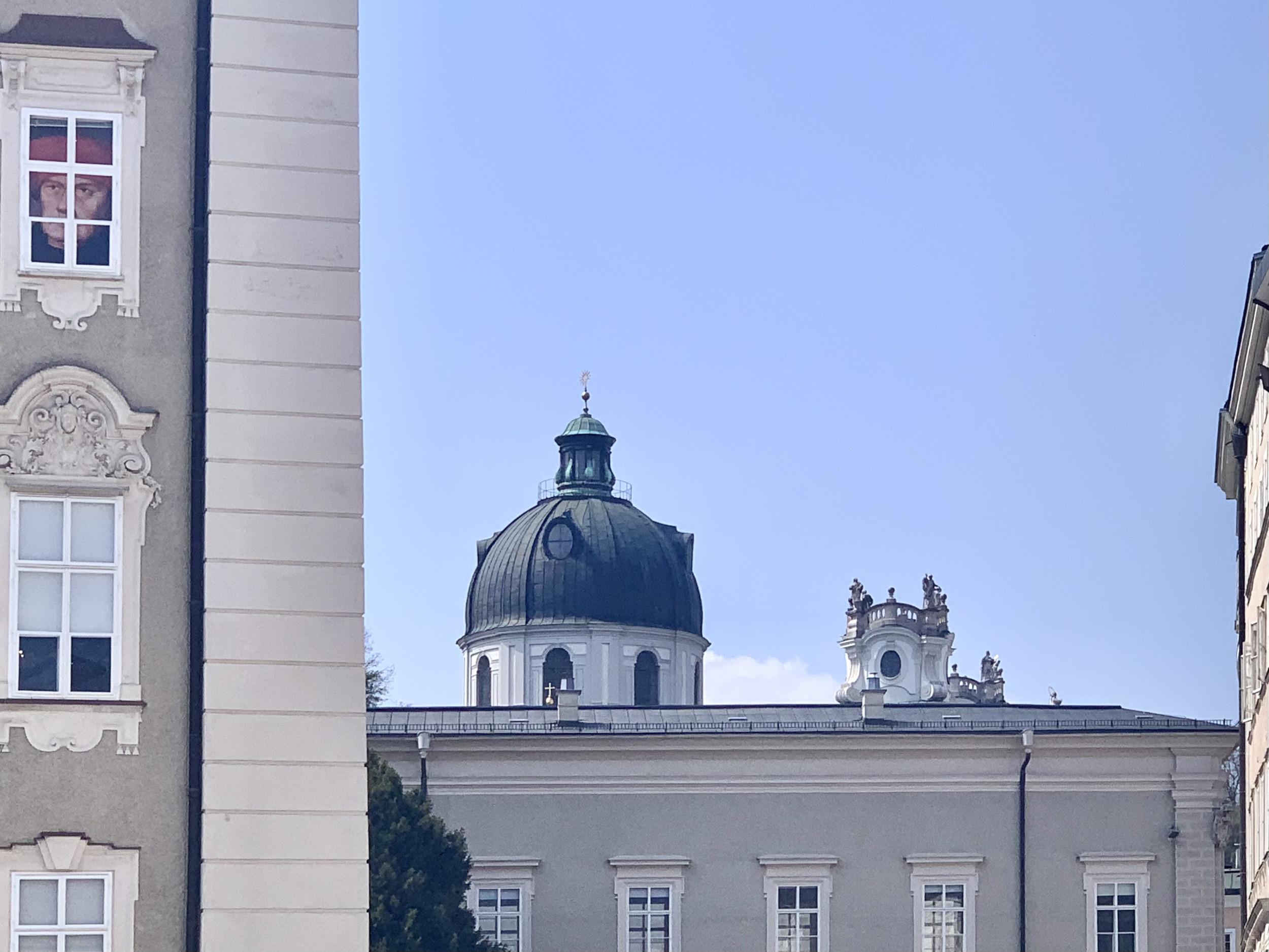 Drum Dome of the Kollegienkirche in Salzburg
