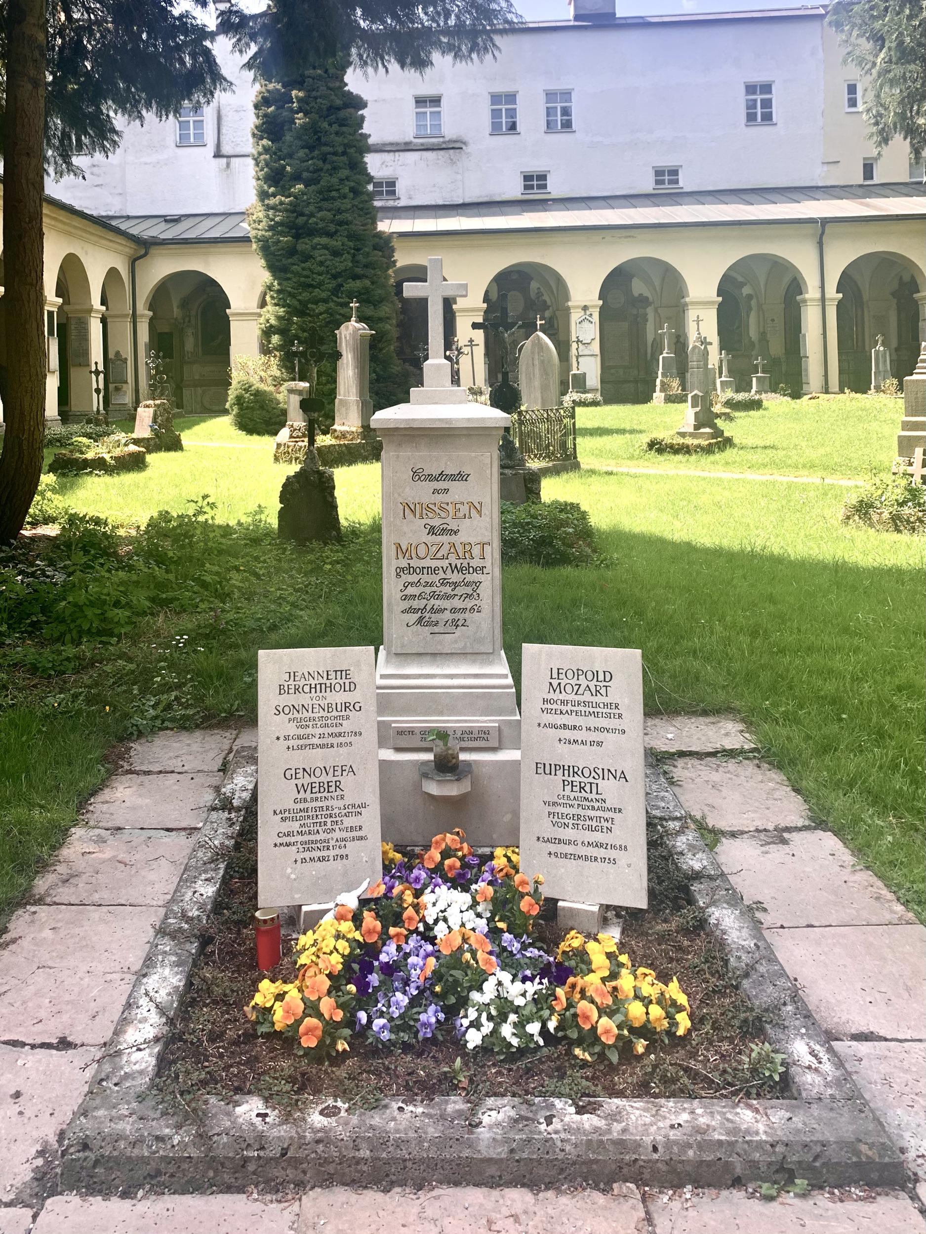 mozart grave salzburg