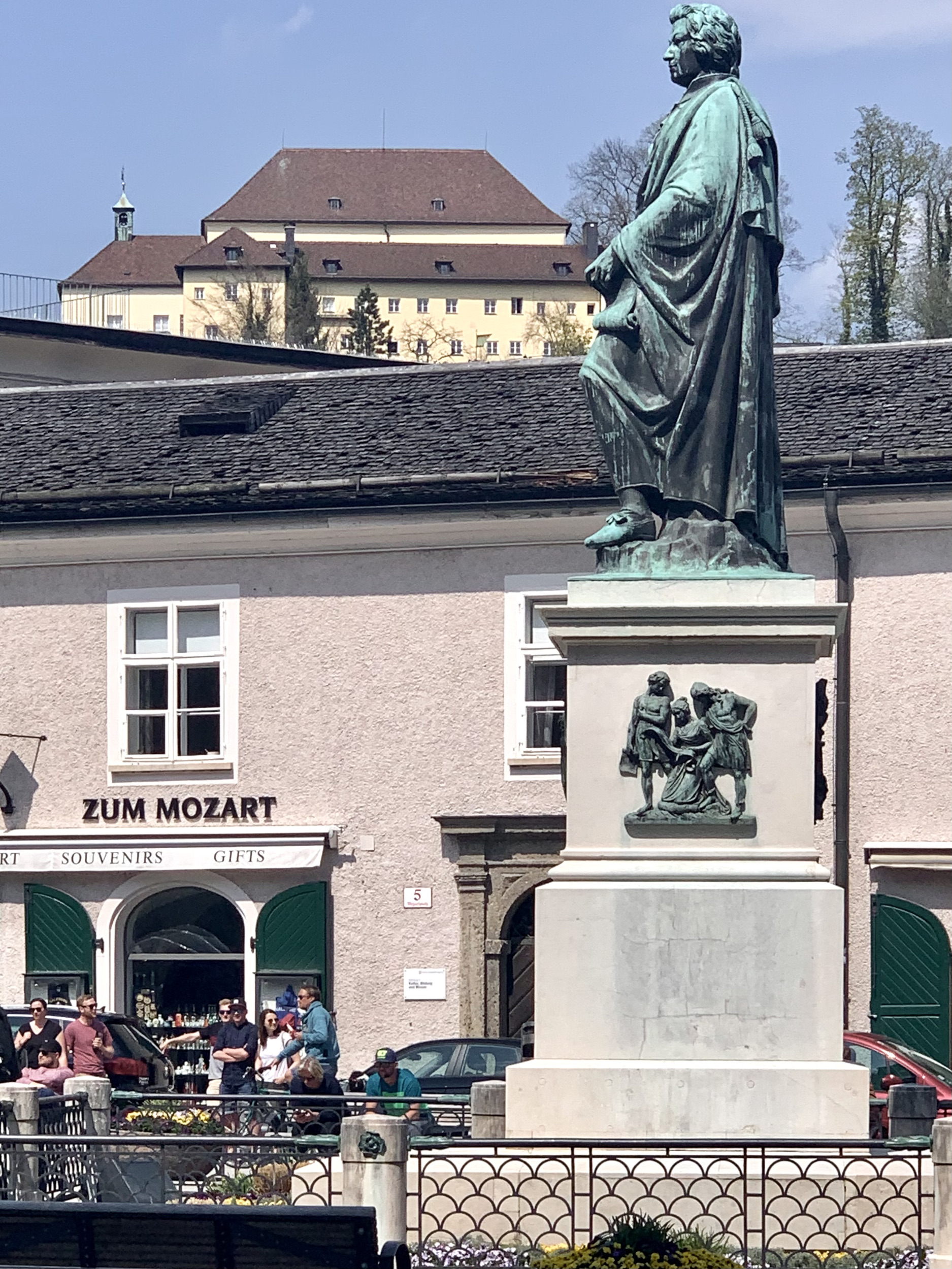 Mozart Monument by Ludwig M. Schwanthaler