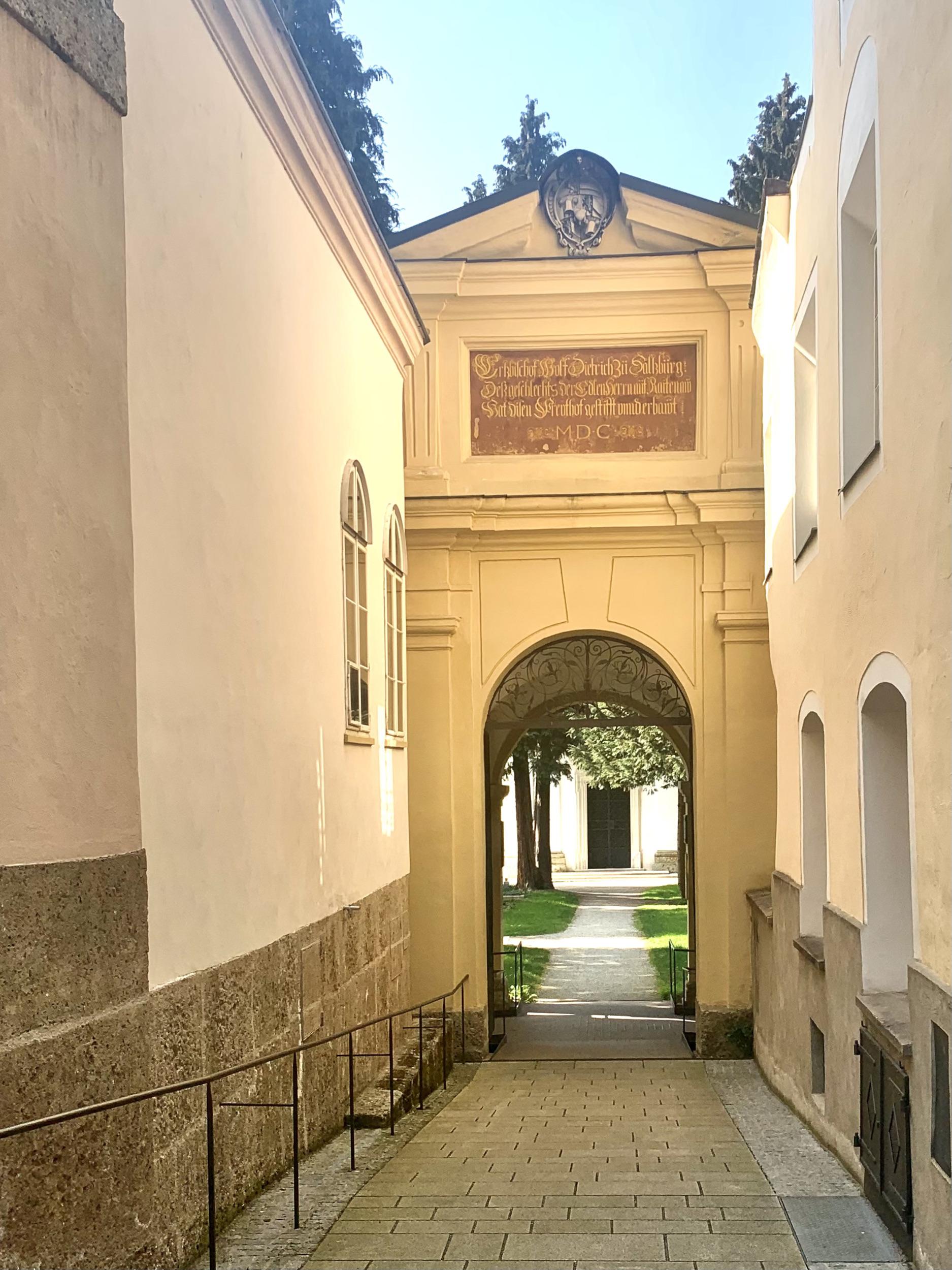 Portal Sebastian Cemetery Salzburg