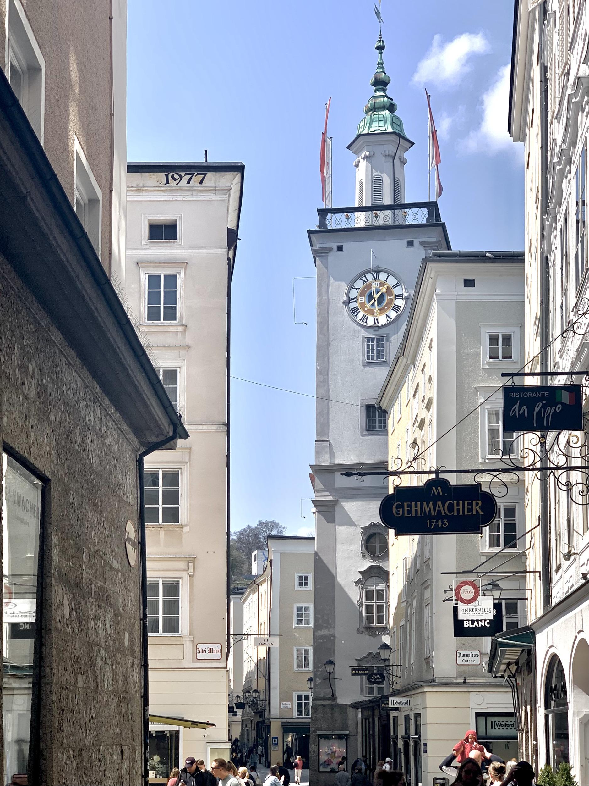 Salzburg Town Hall Tower