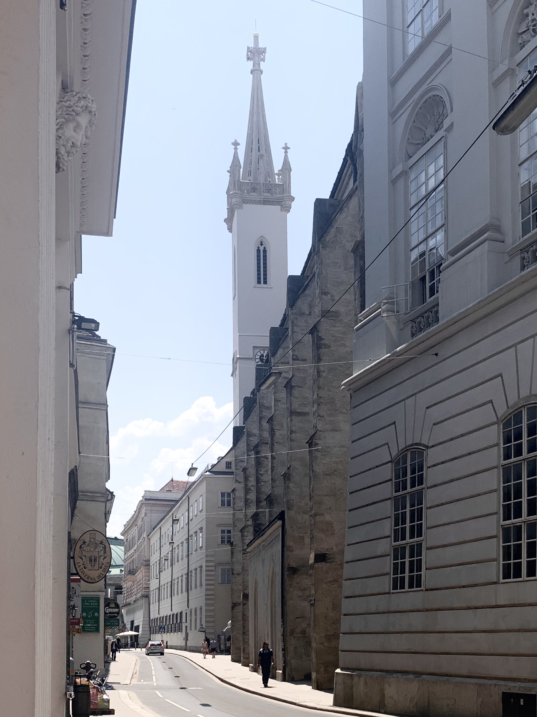 Eastern side Facing Augustinerstraße and Tower of Augustinian Church