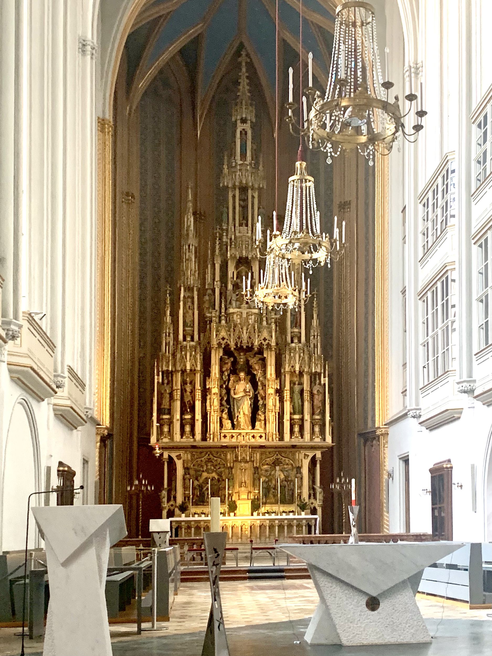 High Altar in the Augustinian Church of Vienna