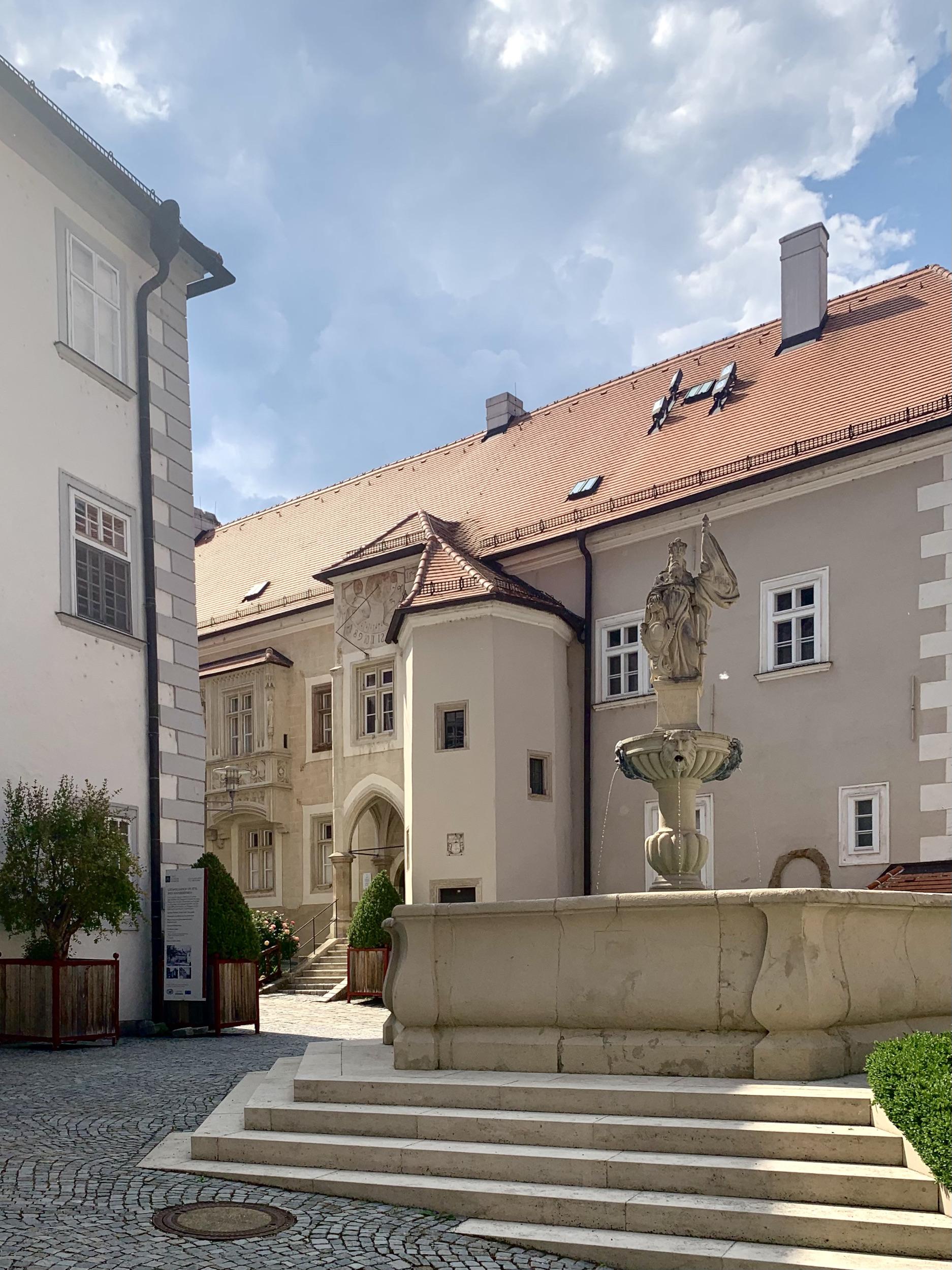 Leopoldbrunnen im Stift Klosterneuburg