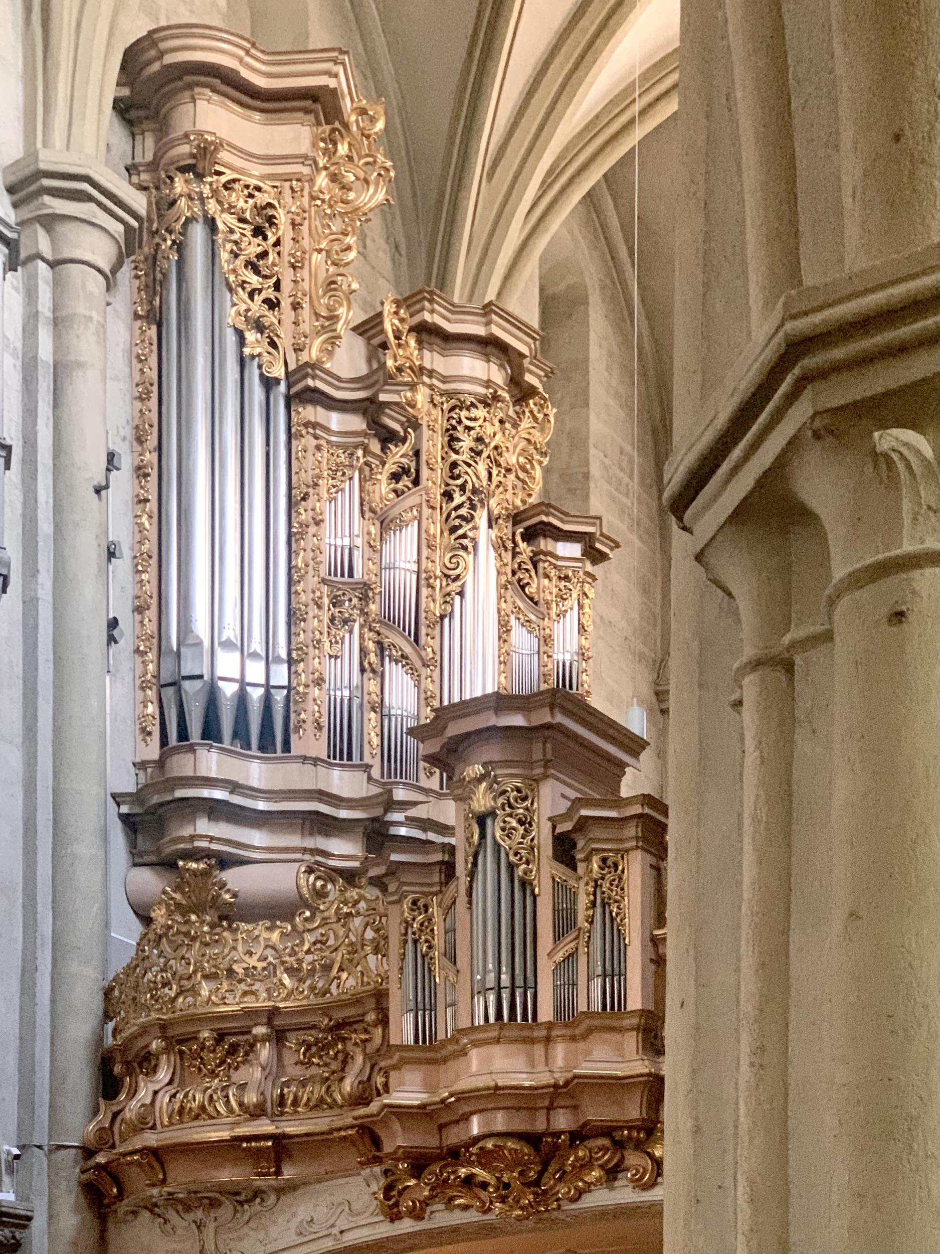 Organ at Saint Michael's Church in Vienna