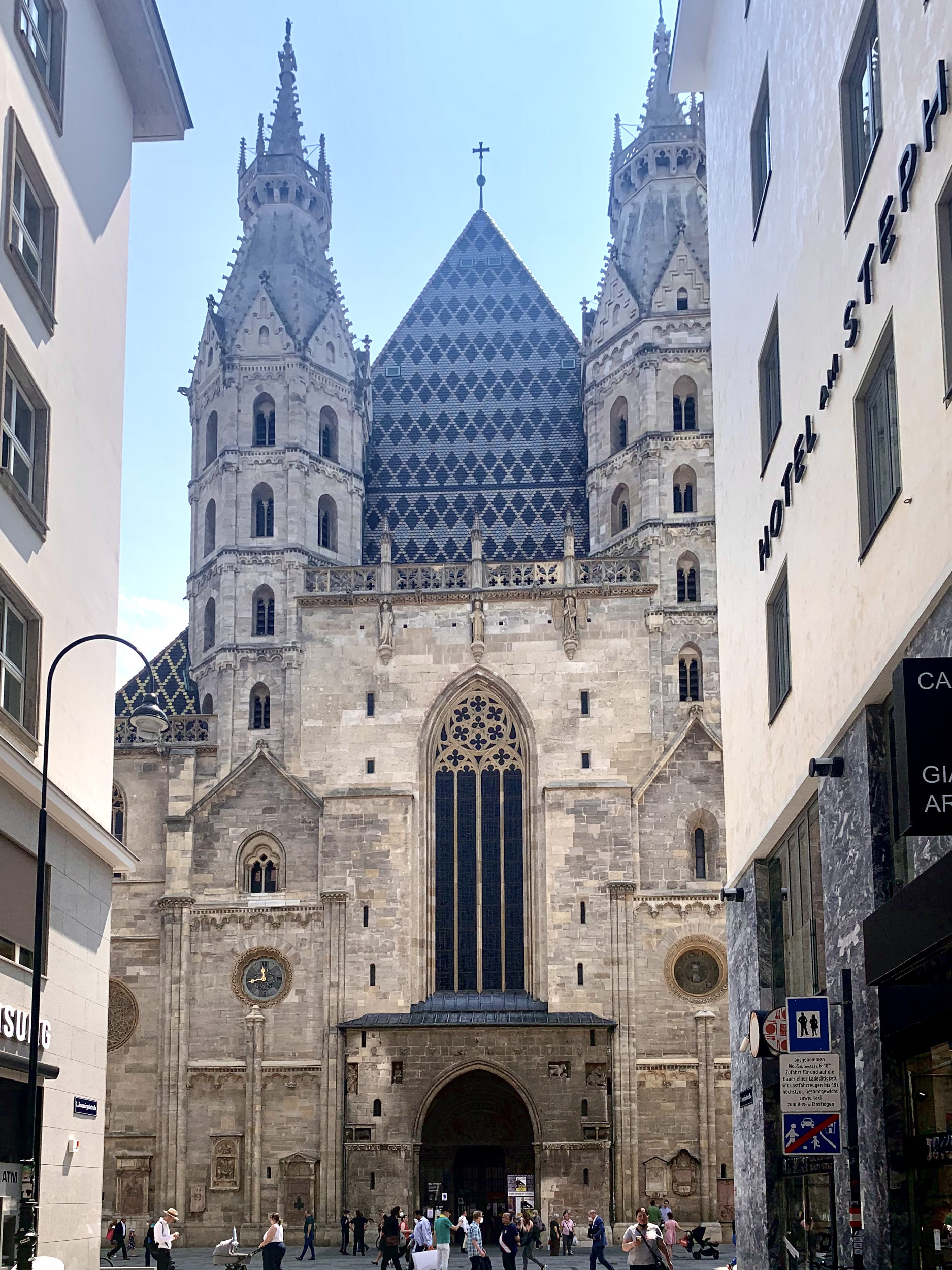 Saint Stephans Cathedral in Vienna