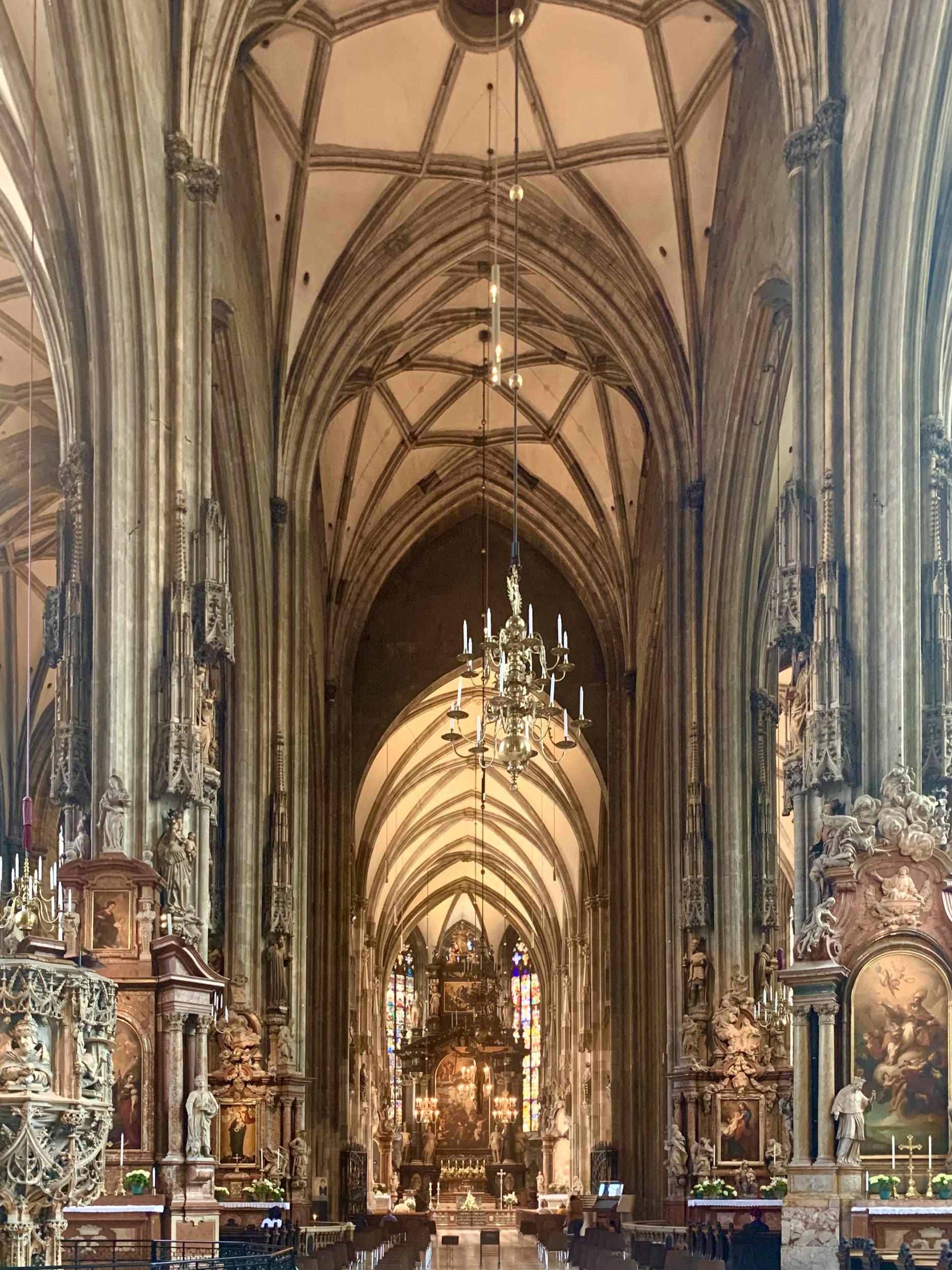 Saint Stephans Cathedral Longhouse