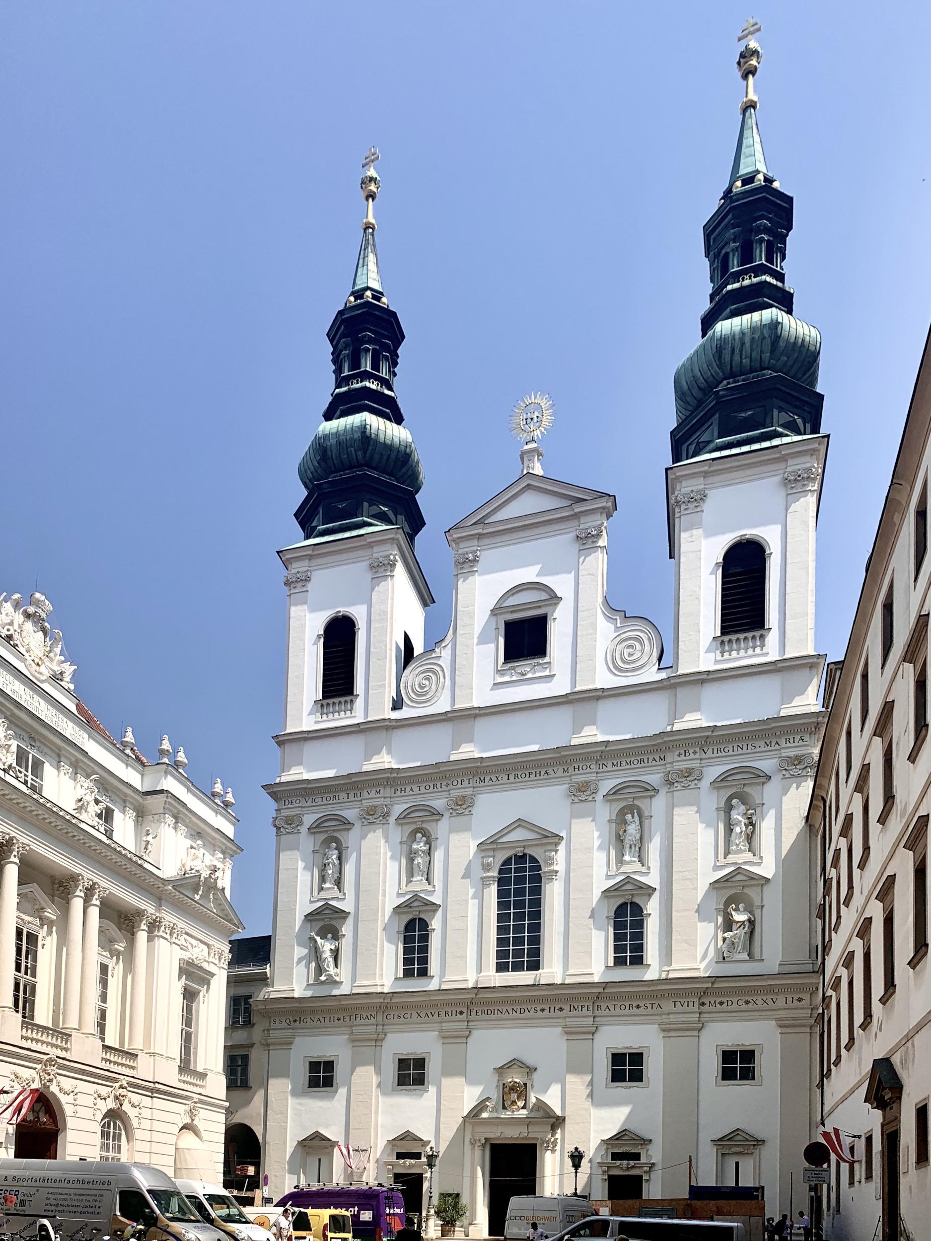 vienna jesuit church