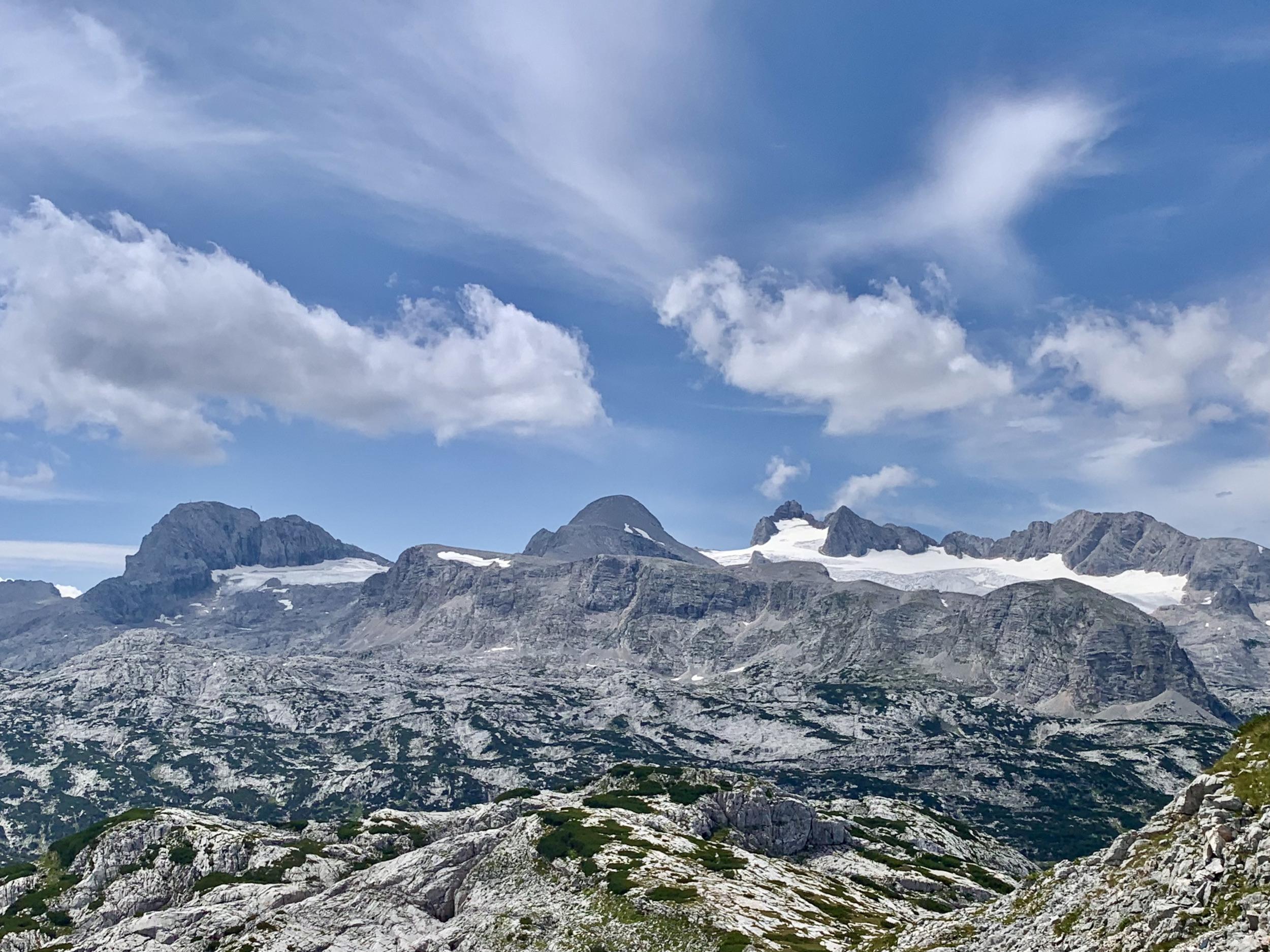 Dachstein with Hallstatt Glacier