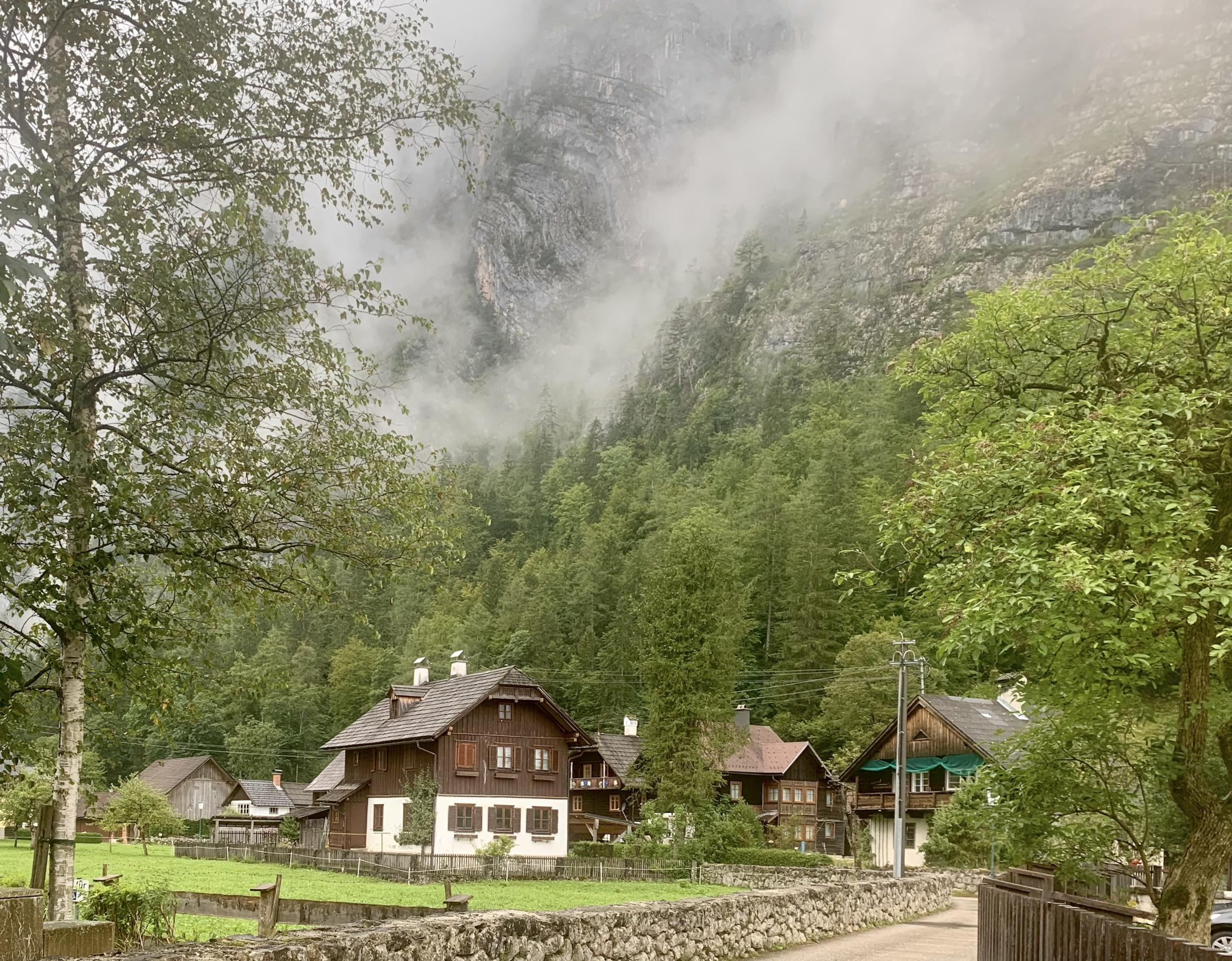 On Echern Valley Path in Hallstatt