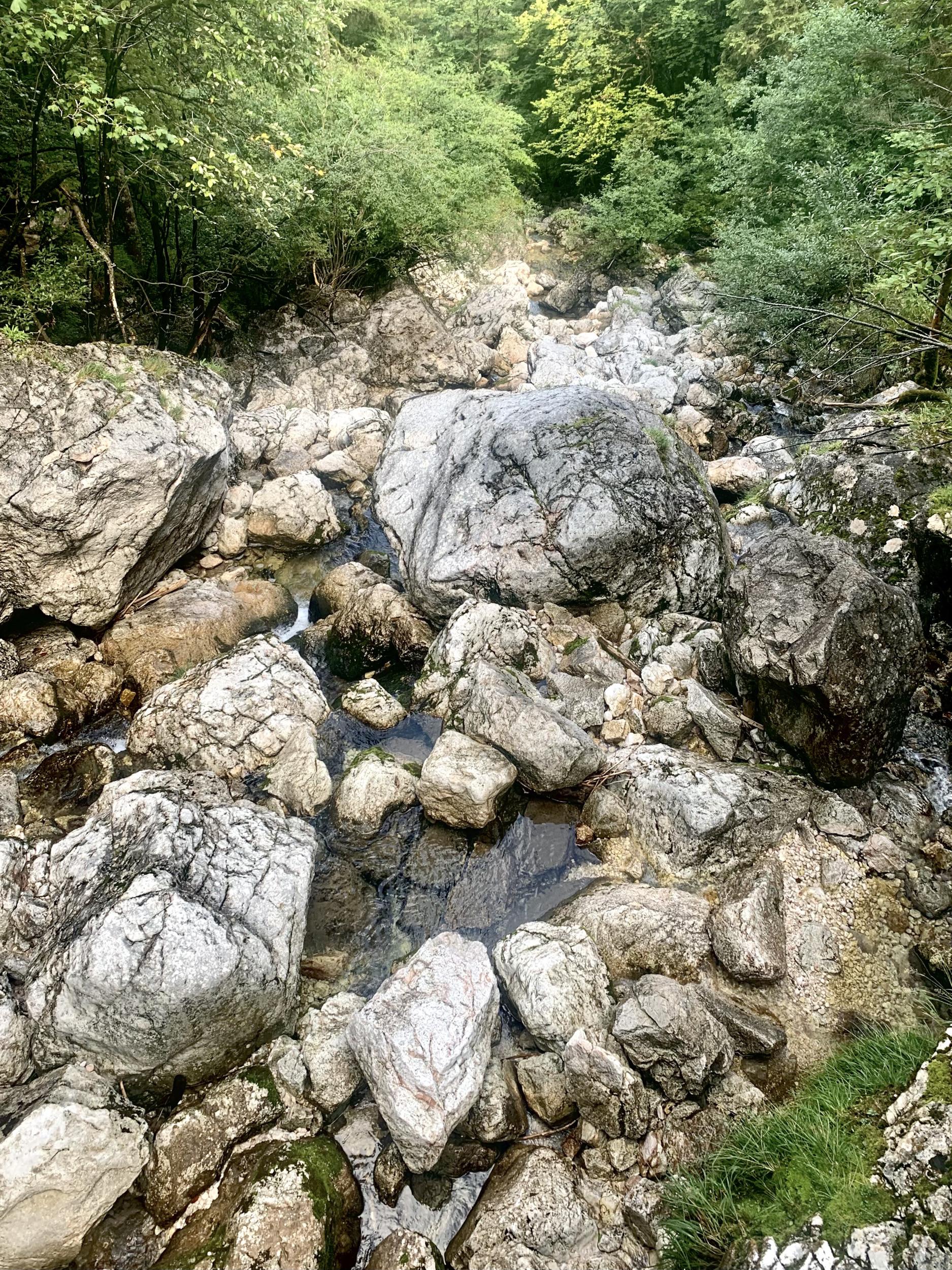 Steine im Gletschergarten vom Echerntal